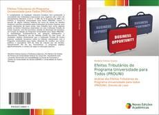 Обложка Efeitos Tributários do Programa Universidade para Todos (PROUNI)