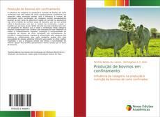 Buchcover von Produção de bovinos em confinamento
