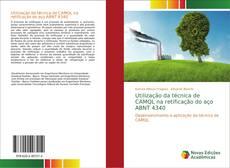 Capa do livro de Utilização da técnica de CAMQL na retificação do aço ABNT 4340