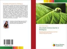 Bookcover of Atividade Antioxidante e Biológica