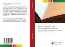 Bookcover of Práticas de escrita de estudantes universitários