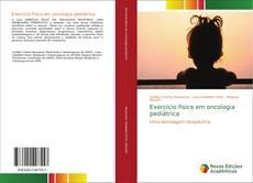 Buchcover von Exercício físico em oncologia pediátrica
