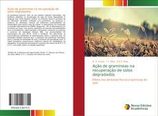 Borítókép a  Ação de gramíneas na recuperação de solos degradados - hoz