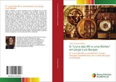 """Обложка O """"Livro das Mil e uma Noites"""" em Jorge Luis Borges"""