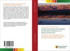O Disclosure de Informações de Riscos Climáticos e o Retorno Anormal的封面
