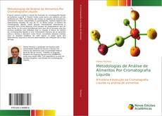 Capa do livro de Metodologias de Análise de Alimentos Por Cromatografia Líquida