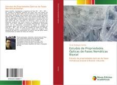 Capa do livro de Estudos de Propriedades Ópticas de Fases Nemáticas Biaxial