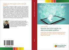 Buchcover von Gestão da informação na administração pública