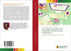Capa do livro de Divulgação Científica em processos formativos de professores