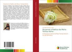 Bookcover of Do Jornal à Poética de Maria Teresa Horta