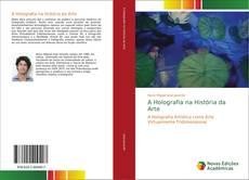 Capa do livro de A Holografia na História da Arte