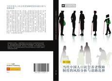 Capa do livro de 当代中国人口社会养老保障制度的风险分析与道路选择