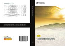 Bookcover of 美国农村教育发展史