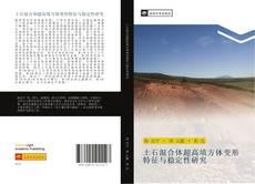 土石混合体超高填方体变形特征与稳定性研究 kitap kapağı