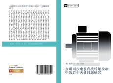 Bookcover of 永磁同步电机直接转矩控制中的若干关键问题研究