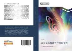 Bookcover of 音乐基本技能穴控操作实践