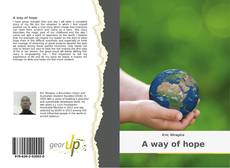Capa do livro de A way of hope
