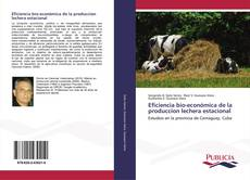 Couverture de Eficiencia bio-económica de la produccion lechera estacional