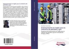 Buchcover von Entrenamiento en inglés para la industria de petróleo y gas