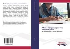 Capa do livro de Motivación para aprender y tareas escolares