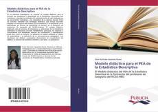 Portada del libro de Modelo didáctico para el PEA de la Estadística Descriptiva