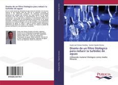 Buchcover von Diseño de un filtro litológico para reducir la turbidez de aguas