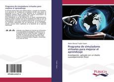 Programa de simuladores virtuales para mejorar el aprendizaje kitap kapağı