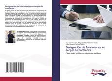 Buchcover von Designación de funcionarios en cargos de confianza