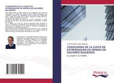 CONSEJERÍAS DE LA JUNTA DE EXTREMADURA EN MÉRIDA DE NAVARRO BALDEWEG kitap kapağı