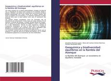 Bookcover of Geoquímica y biodiversidad: equilibrios en la Rambla del Avenque
