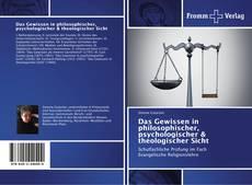 Capa do livro de Das Gewissen in philosophischer, psychologischer & theologischer Sicht