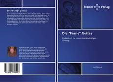 "Bookcover of Die ""Ferne"" Gottes"