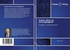 Bookcover of Gottes Wort ist unvergänglich