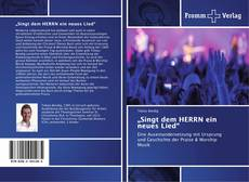 """Bookcover of """"Singt dem HERRN ein neues Lied"""""""