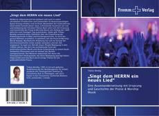 "Copertina di ""Singt dem HERRN ein neues Lied"""