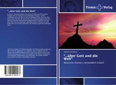 """Capa do livro de """"...über Gott und die Welt"""""""