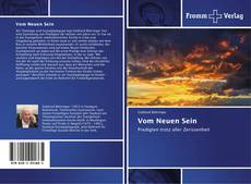 Buchcover von Vom Neuen Sein