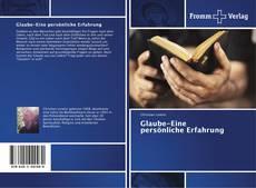 Buchcover von Glaube-Eine persönliche Erfahrung