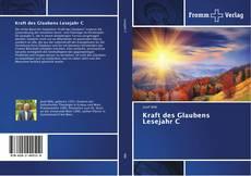 Capa do livro de Kraft des Glaubens Lesejahr C