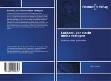 Lorbeer, der riecht meist verlogen kitap kapağı
