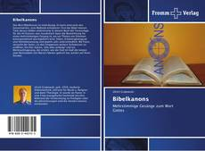 Bookcover of Bibelkanons