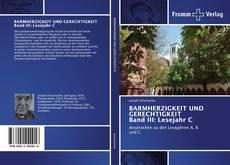 Buchcover von BARMHERZIGKEIT UND GERECHTIGKEIT Band III: Lesejahr C