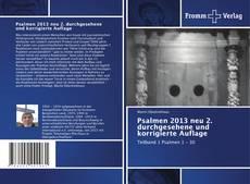Bookcover of Psalmen 2013 neu 2. durchgesehene und korrigierte Auflage