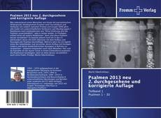 Copertina di Psalmen 2013 neu 2. durchgesehene und korrigierte Auflage