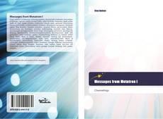 Buchcover von Messages from Metatron I