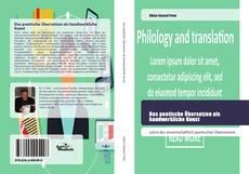 Buchcover von Das poetische Übersetzen als handwerkliche Kunst