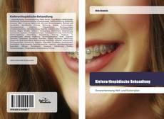 Capa do livro de Kieferorthopädische Behandlung