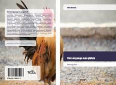 Capa do livro de Versorgungs-Ausgleich