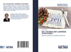 Capa do livro de ESL VOCABULARY LEARNING STRATEGIES