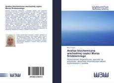 Buchcover von Analiza biochemiczna wschodniej części Morza Śródziemnego